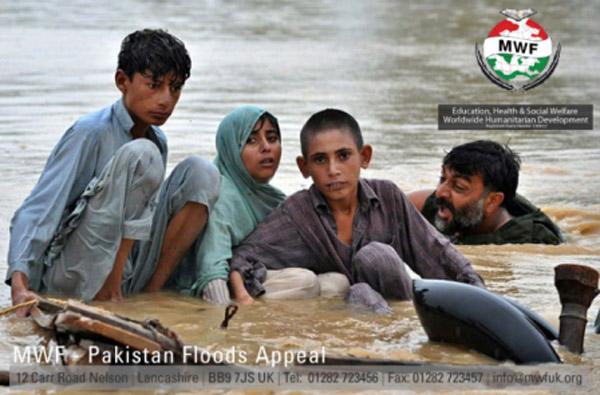 Wederom overstromingen in Pakistan