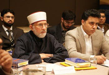 Shaykh-Ul-Islam Dr. Tahir-Ul-Qadri aanwezig op US-Islamic World Forum in Washington