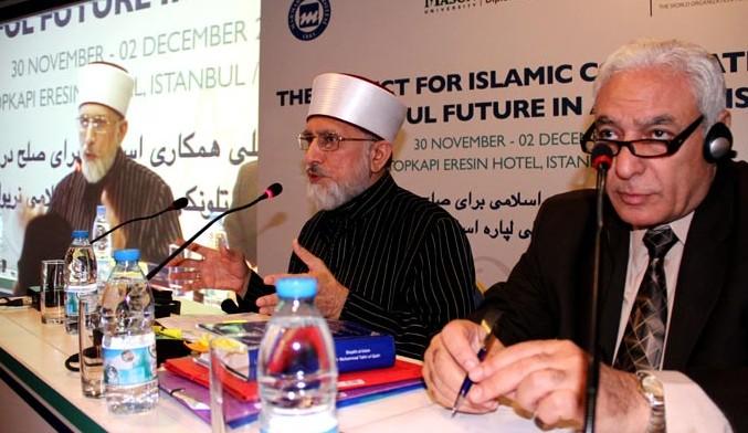 Minhaj bij Afghanistan conferentie in Istanbul