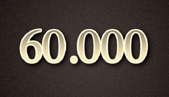 €60.000 overgemaakt