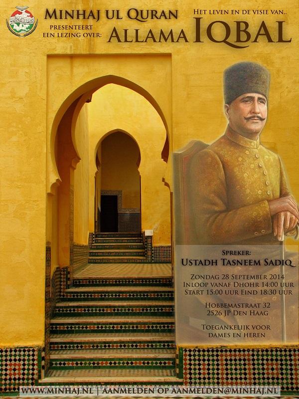 Lezing over leven en visie van Allama Iqbal (ra) – Zo 28 Sep – Meld je nu gratis aan