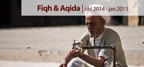 Start wekelijkse studie over Fiqh (reiniging, gebed en vasten) & Aqida (geloofsleer)
