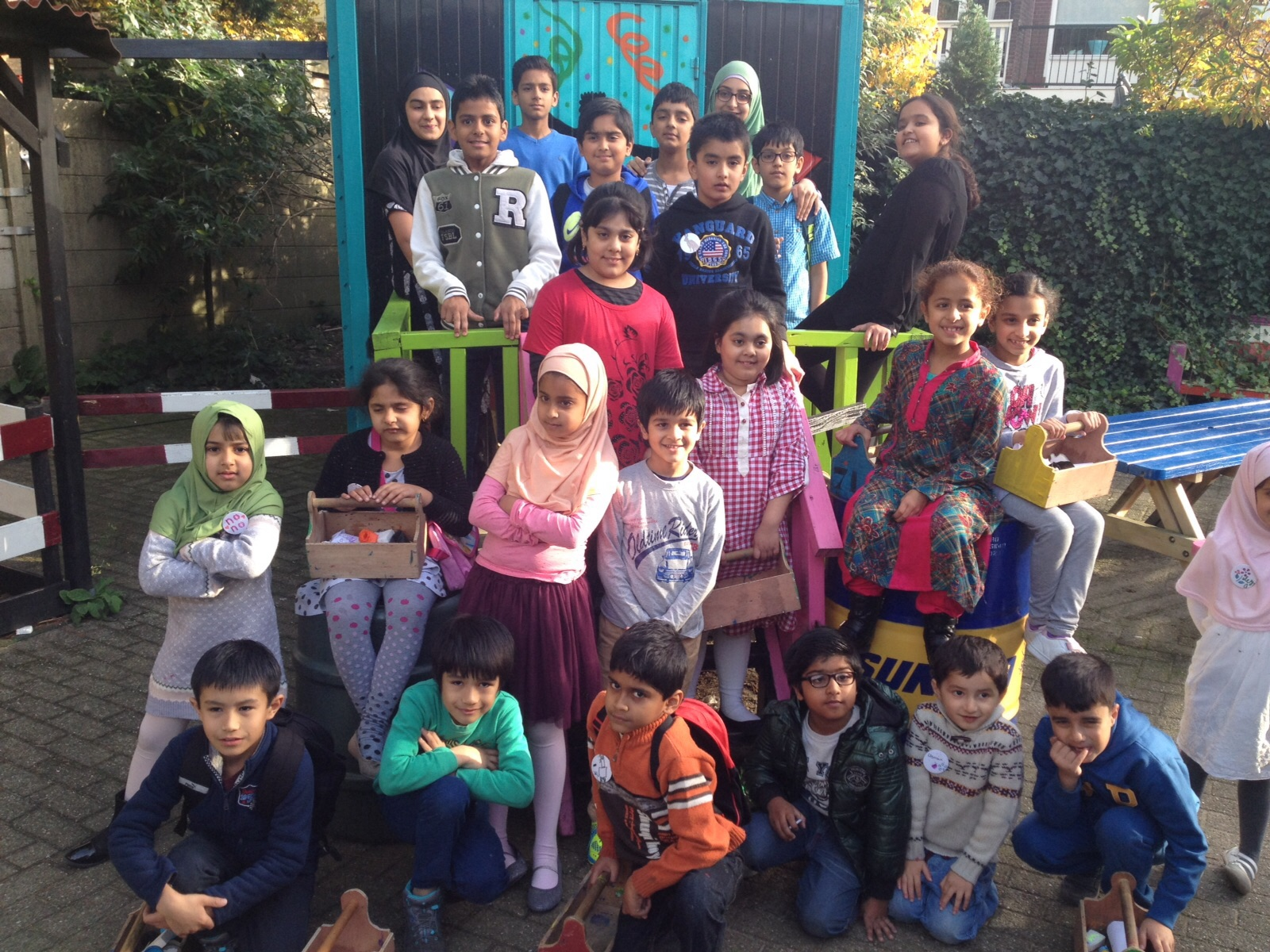 Kinderuitje Minhaj Education Society (MES) 25 oktober 2015