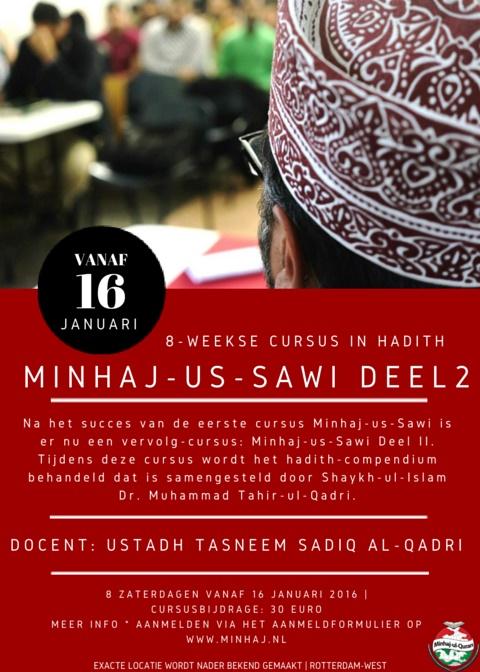 Minhaj-us-Sawi deel II: 8-weekse Hadith cursus || 16 januari