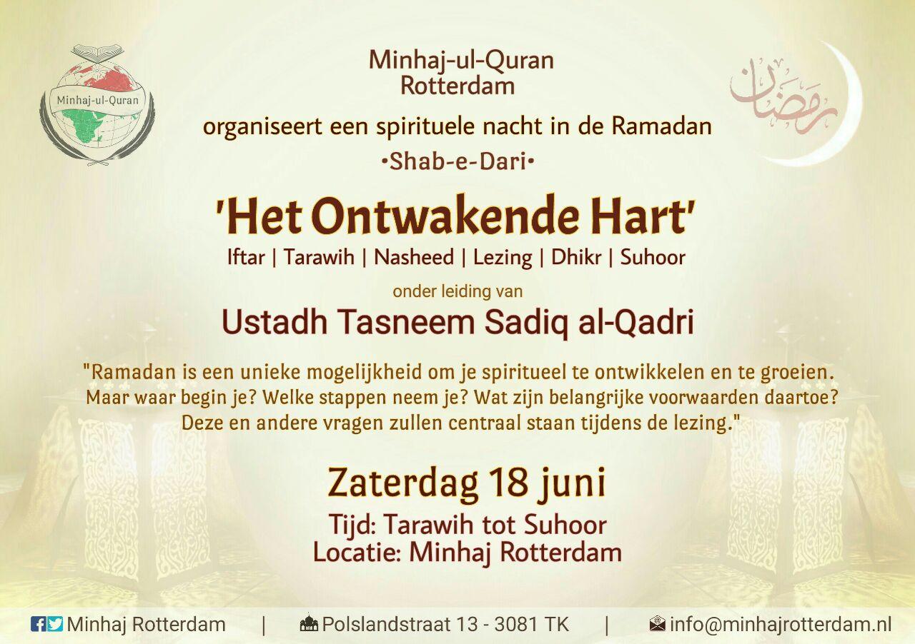 Spirituele Nacht: 'Het Ontwakende Hart' | Rotterdam-Zuid, za 18 juni