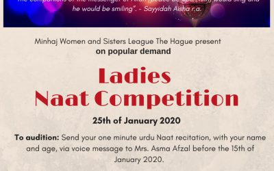 Ladies Naat Competition
