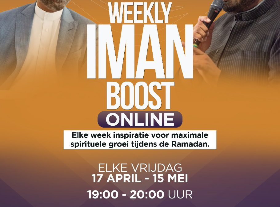 Start lessenreeks Weekly Imaan Boost op 17 april